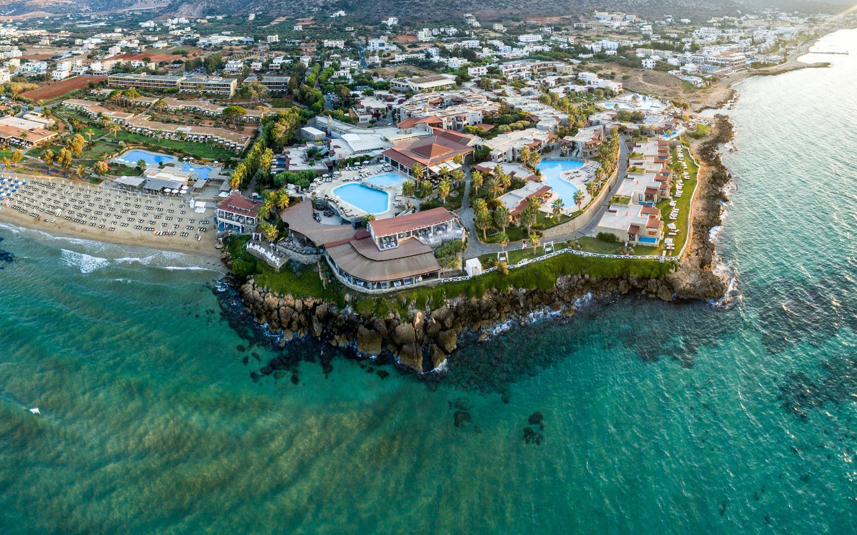 ikaros beach luxury resort spa malia kreta hotels urlaub. Black Bedroom Furniture Sets. Home Design Ideas